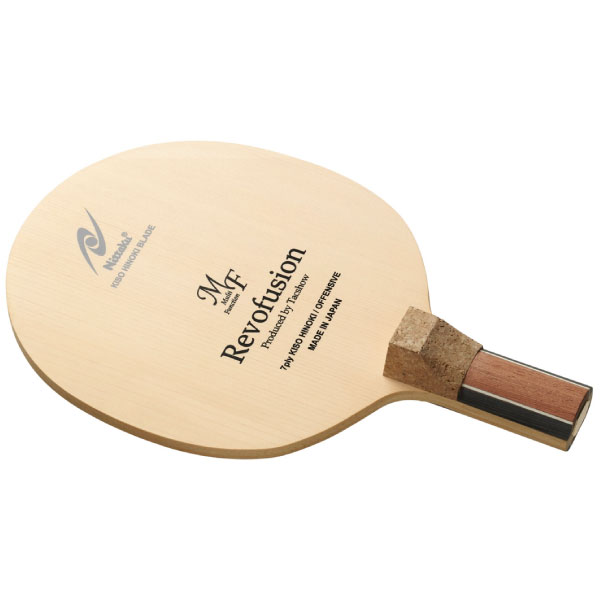 ニッタク Nittaku メンズ レディース レボフュージョンMF J 卓球 ラケット 卓球 ペンホルダー 攻撃用 NE-6410