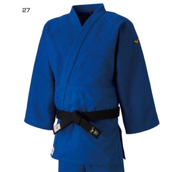 【送料無料】 標準サイズ ミズノ Mizuno メンズ レディース 優勝 上衣 ウェア 全柔連・IJF新規格基準モデル 柔道衣 22JA8A01 22JA8A0127