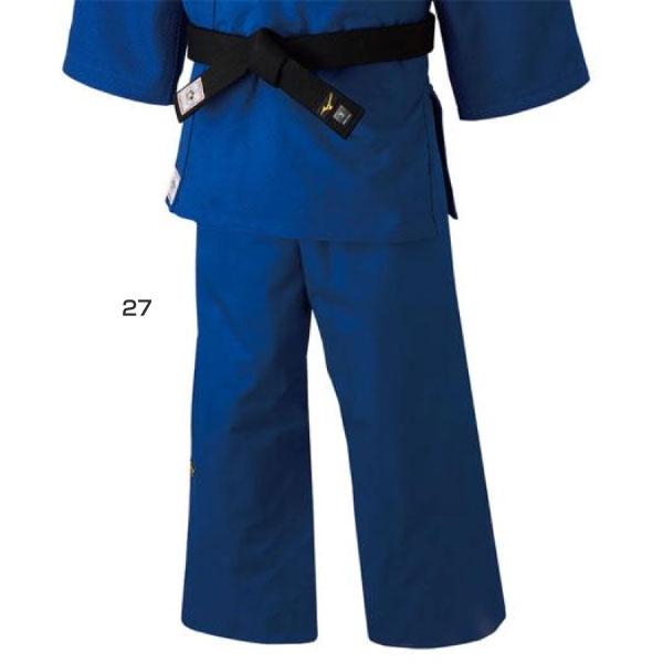 標準サイズ ミズノ Mizuno メンズ レディース 優勝 パンツ ウェア 全柔連・IJF新規格基準モデル 柔道衣 22JB8A01