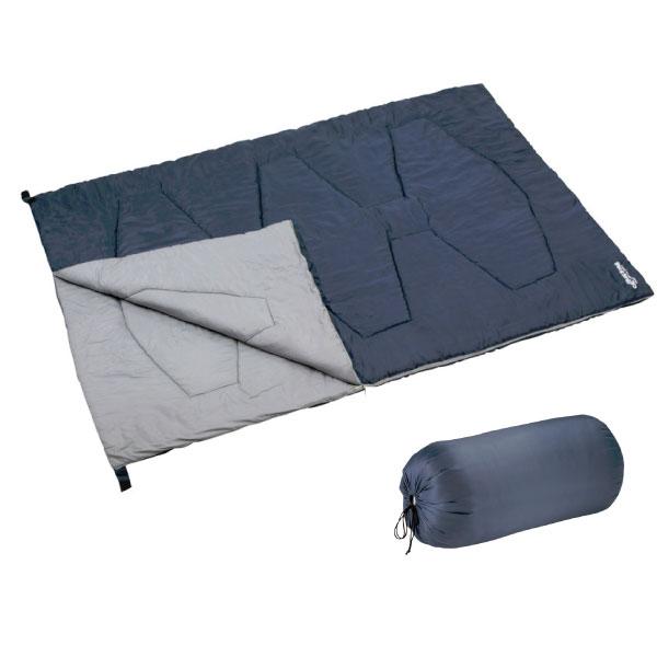 キャプテンスタッグ CAPTAIN STAG メンズ レディース 洗えるシュラフ2000 アウトドア用品 ダブルサイズ キャンプ 寝袋 封筒型 UB0007 UB-7
