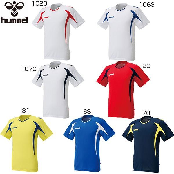 Hyun Mel hummel youth kids practice shirt soccer wear futsal wear tops  short sleeves HJP1124