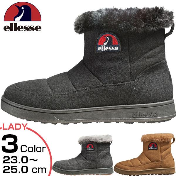 エレッセ ellesse レディース ヘリテージ エットーレ ウインターブーツミッド カジュアルシューズ 光電子 暖かい 雪道対応 防水 EFH8323