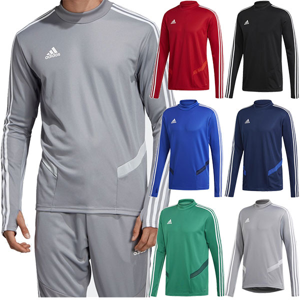 Adidas adidas メンズティロ TIRO19 training top soccer futsal wear tops jersey long sleeves training sportswear FJU28