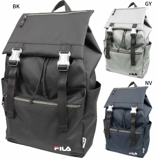 dd73fe4a4c7 I cover, and popular FILA is an expression rucksack. I embroider a brand  logo modestly to be able to have front transparence parts with a point  widely.