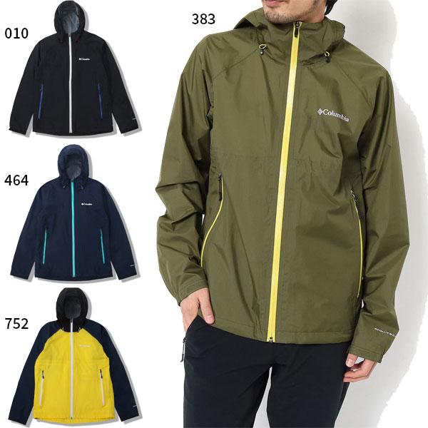 【送料無料】 コロンビア Columbia メンズ アウトドアウェア トップス レインウェア レインジャケット 合羽 カッパ 雨具 PM3434