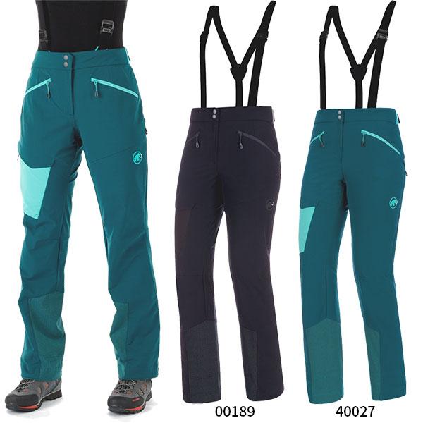 【送料無料】 マムート Mammut レディース ベース ジャンプ ツーリング パンツ Base Jump SO Touring Pants Women's アウトドアウェア 登山 トレッキング 1021-00090