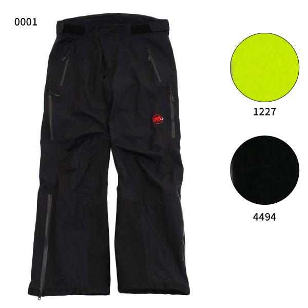 【送料無料】 マムート Mammut メンズ スノーシャワーパンツ SNOWSHOEWR Pants ウインタースポーツウェア スキー アウトドア 1020-12221