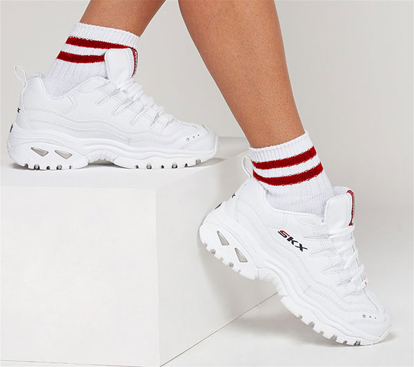 retrasar Amabilidad Adolescente  Purchase - skechers all white leather shoes - OFF 73% - Free Priority  Shipping - www.volnur.com.tr