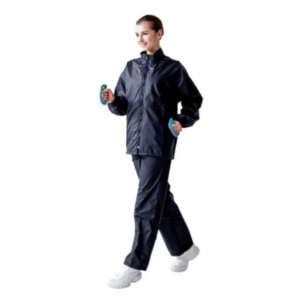 【送料無料】 上下セット ハタ HATAS メンズ レディース サウナスーツ ウェア ジャケット パンツ ダイエット トレーニング 発汗 有酸素運動 ランニング SNS816
