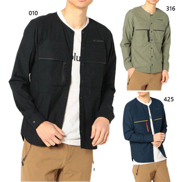 【送料無料】 コロンビア Columbia メンズ セカンドヒル ロングスリーブシャツ Second Hill Long Sleeve Shirt アウトドアウェア トップス 長袖 吸湿・速乾 UVカット PM3786