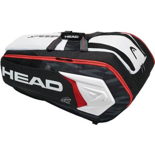 【送料無料】 12本収納可能 ヘッド HEAD メンズ レディース ジョコビッチ12Rモンスターコンビ・バッグ バッグ 鞄 テニスバッグ ラケットバッグ 試合 部活 練習 283008
