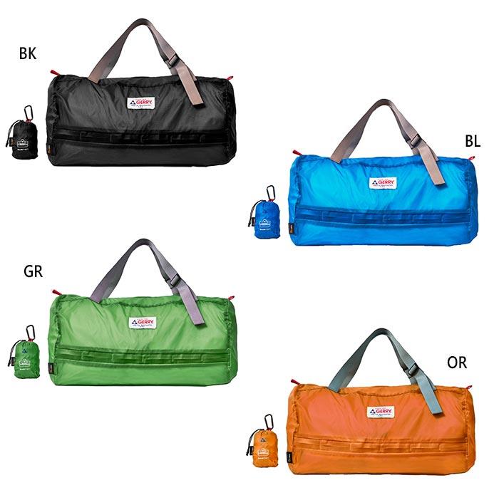 ボストンバッグ 鞄 GE1402 超人気 専門店 30L ジェリー メンズ GERRY 送料無料 一部地域を除く レディース ダッフルバッグ DUFFLE ポケッタブル