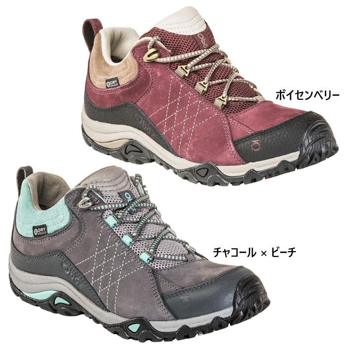 Oboz レディース Sapphire 山登り サファイア 【送料無料】 登山靴 オボズ ロー トレッキングシューズ Low 71602 ビードライ B-Dry