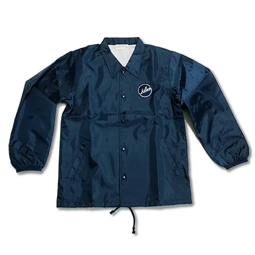 【オススメ】RHC Ron Herman (ロンハーマン): Chillax Coach Jacket (コーチジャケット) ネイビー