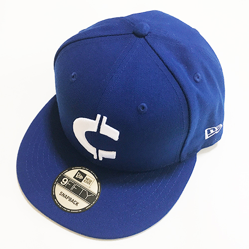 RHC Ron Herman (ロンハーマン): Chillax×NEW ERA×RHC Cロゴ 9FIFTY SNAP BACK キャップ (Blue)