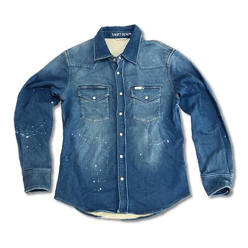 RHC Ron Herman (ロンハーマン): SURT A/W Sweat Denim Shirt INDIGO