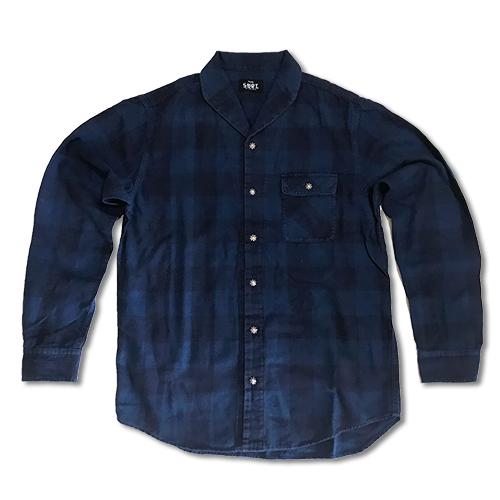 RHC Ron Herman (ロンハーマン)限定販売: SURT ネルシャツ ネイビー