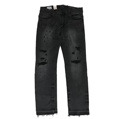 RHC Ron Herman (ロンハーマン)限定販売: SURT x BIG JOHN x RHC Damaged Denim Jeans Black