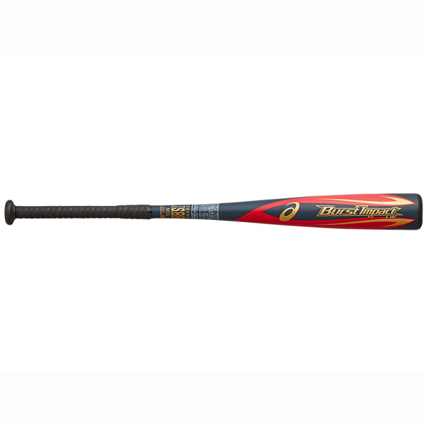 BURST IMPACT LW バーストインパクトLW【ASICS】アシックス 野球 軟式少年バット(3124A029)*25