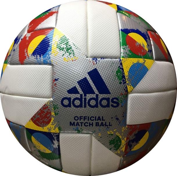 UEFAネーションズリーグ2018-2019 公式試合球【adidas】アディダス5号球 サッカーボール18FW(AF5540NL)*20
