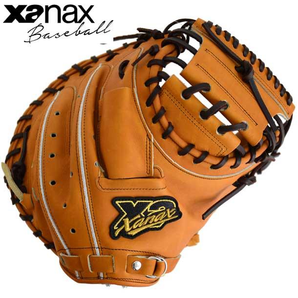 硬式用キャッチャーミット トラストX※グラブ袋付【XANAX】ザナックス 野球 硬式用グローブ19SS(BHC-24519)*10