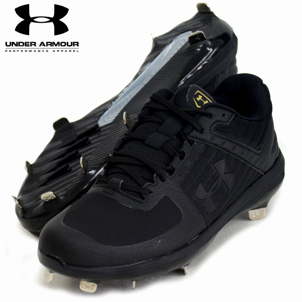 UA Yard Low ST JP 【UNDER ARMOUR】アンダーアーマー 野球スパイク19SS(3022131-BLK/BLK)*00