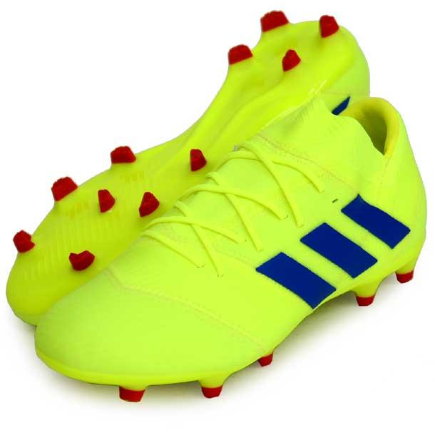 ネメシス 18.2 FG/AG【adidas】アディダス サッカースパイク NEMEZIZ 19Q1(BB9431)*23