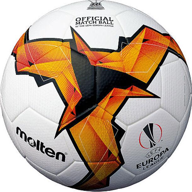 UEFA ヨーロッパリーグ 2018-19(ノックアウトステージ)試合球 【molten】モルテン 5号球 サッカーボール 19SS(F5U5003-K19)*20
