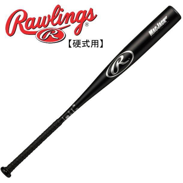 硬式金属バット MACKJACK2【Rawlings】ローリングス野球 硬式用バット 19SS(BH9MJT)*20