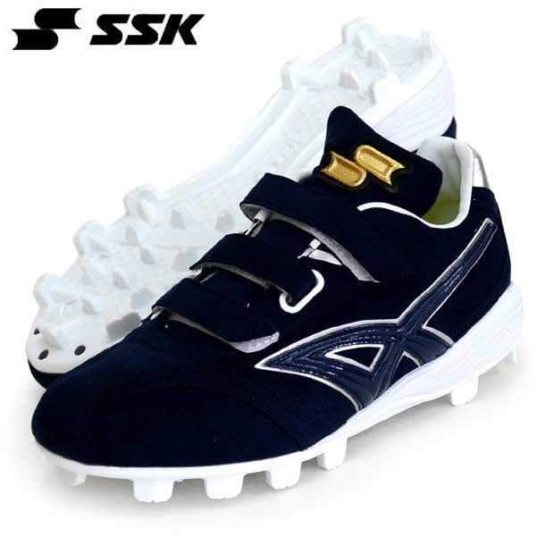 ヒーローステージMC 【SSK】エスエスケイ 野球 ポイントスパイク ベルクロ 19FW(ESF4010-7095)*25