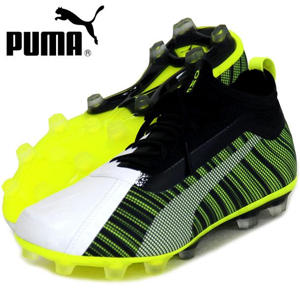 K) プーマ ワン 5.1 HG【PUMA】プーマ ●サッカースパイクシューズ19FW (105616-02)*40
