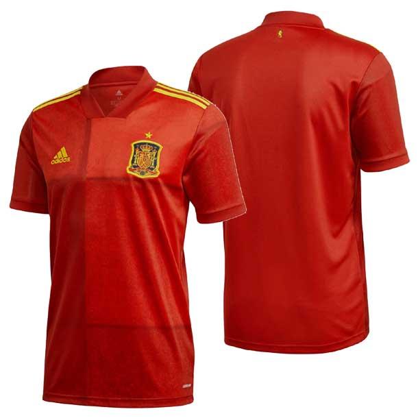 スペイン代表 ホームジャージー 【adidas】アディダス サッカーホー ムユニフォーム 20Q1(KCM79-FR8361)*00