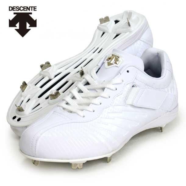 コウノエベルトスパイク2G 【descente】デサント 野球スパイク 20SS(DB1PJA00WH-wht)*20