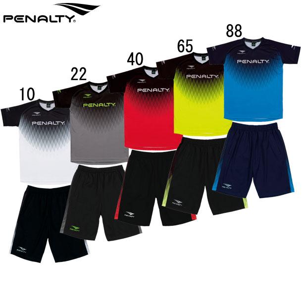 サッカー メーカー直送 プラシャツ ライトプラスーツ 上下セット penalty ペナルティー 21SS 47 ウェア 交換無料 PU1310 フットサル