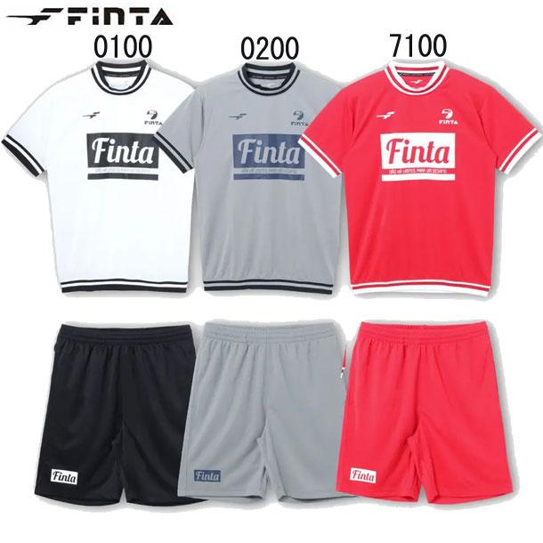 サッカー プラクティスシャツ プラクティススーツ finta フィンタ パンツ FT8501 プラクティクスシャツ 50 21SS 低廉 新作入荷!!