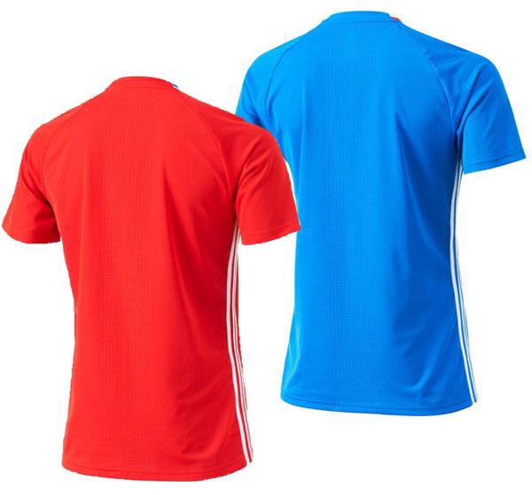 俄羅斯代表訓練運動服愛迪達足球復製品服裝16SS(MBN08)*00