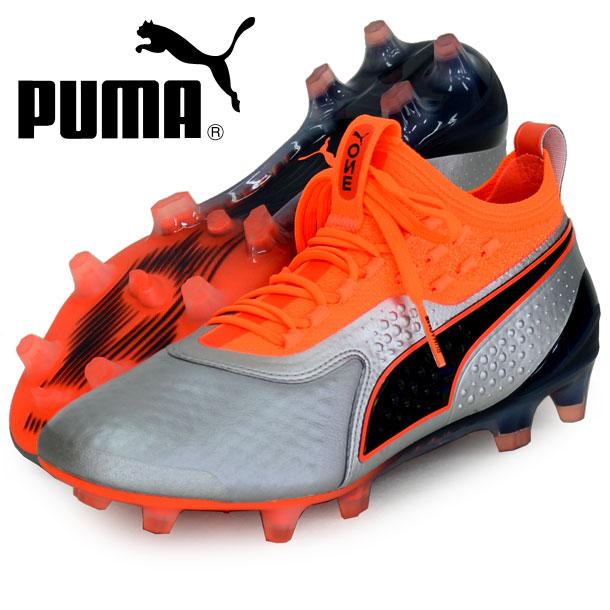 プーマ ワン 1 レザー FG/AG【PUMA】プーマ ● サッカースパイク18FW(104735-01)*45
