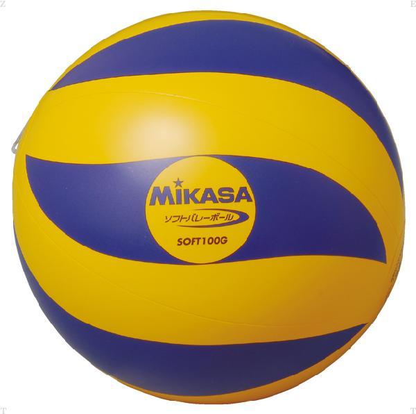 ミカサ MIKASA ソフトバレー YE/BLU 100G mg-soft100g- ソフトバレー YE/BLU 100G【MIKASA】ミカサバレー11FW mikasa(SOFT100G)<お取り寄せ商品の為、発送に2~5日掛かります。>*25