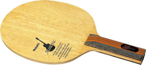 アコースティック ST【Nittaku】ニッタクシェークハンド卓球ラケット(NE6759)<発送まで2~3日掛かります。>*20