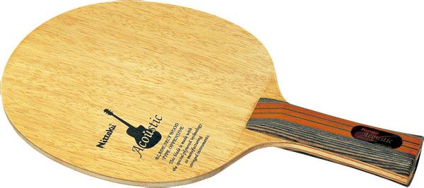 アコースティック FL【Nittaku】ニッタクシェークハンド卓球ラケット(NE6760)<発送まで2~3日掛かります。>*20