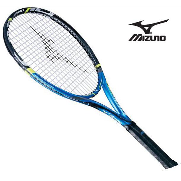 『フレームのみ』テニスラケット Fエアロ コンプ (27ブルー×ブラック) 【MIZUNO】ミズノ テニス ラケット Fシリーズ (63JTH60027)*40