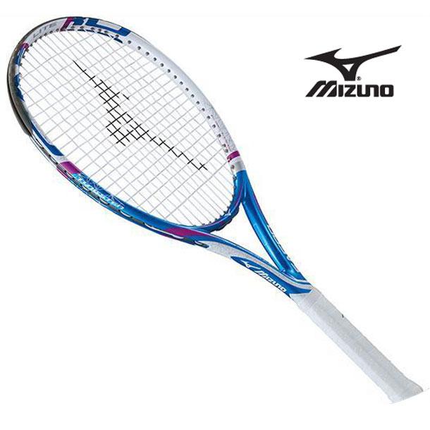 『フレームのみ』テニスラケット Fエアロ ライト (27ブルー×ホワイト) 【MIZUNO】ミズノ テニス ラケット Fシリーズ (63JTH60427)*61