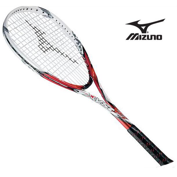 『フレームのみ』ソフトテニスラケット ジスト T1 (62レッド×ホワイト) 【MIZUNO】ミズノ ソフトテニス ラケット ジスト (63JTN52162)*41