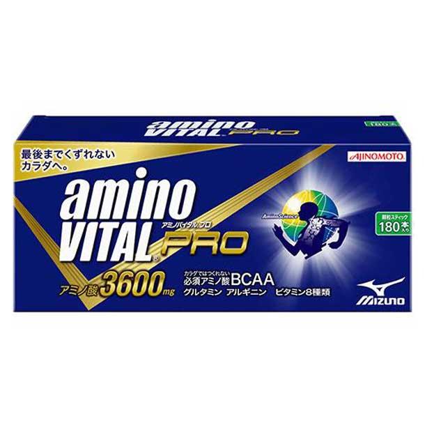 味の素 アミノバイタルプロ4.5g小袋(180本入り) 【MIZUNO】ミズノ フィットネス サプリメント アミノバイタル (16AM1520)*11