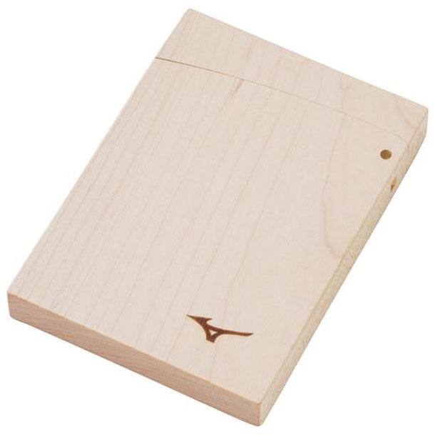 木製名刺入れ【MIZUNO】ミズノ野球 木・ボール・グラブ革品 バット木材製品(1GJYV13900)*00