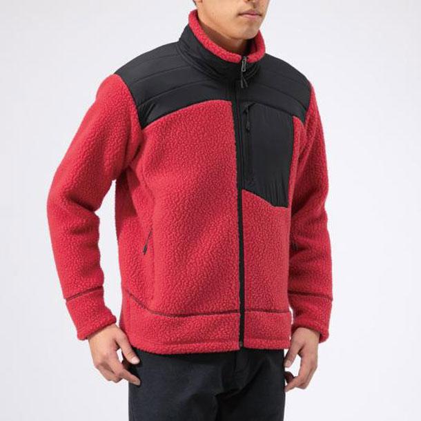 ポーラテックボアフリースジャケット(メンズ)【MIZUNO】ミズノアウトドア トラベル トラベルウエア ジャケット(B2MC9521)*40