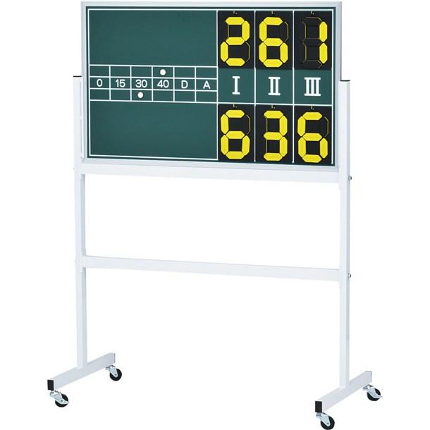 テニス得点板3【TOEI LIGHT】トーエイライト得点板(B2028)*20