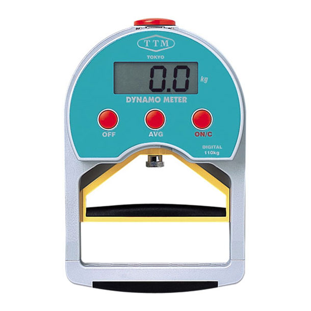 デジタル握力計 110KG【HATAS】ハタマルチSPキグ(110D)*00