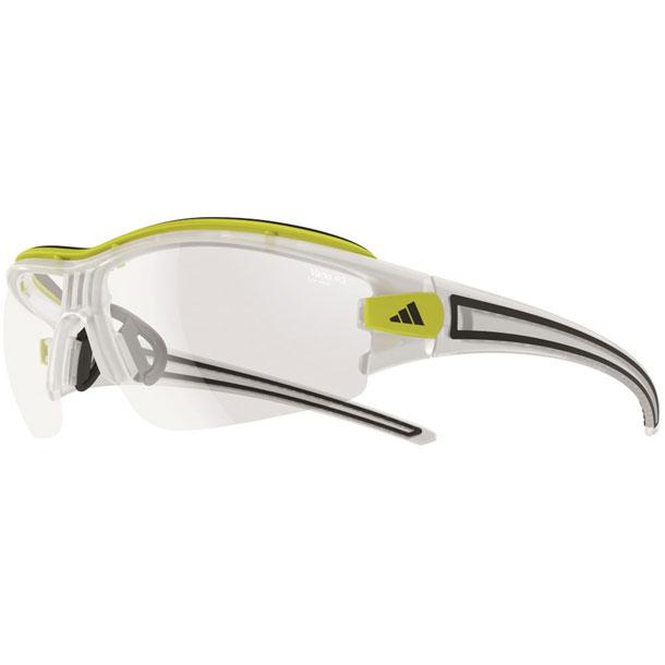 サイクル サングラス 調光レンズ evil eye halfrim pro Sサイズ マットクリスタル×クリアーグレイ【adidas】アディダス マルチSPサングラス(A198016092)*33