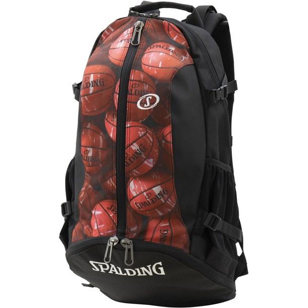 ケイジャー マーブル RED【SPALDING】スポルディングバスケットバックパック(40007mrd)*00